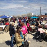 Stop by for food, entertainment and goods of all types during the July Flea Off Market