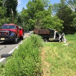 Boonton Township Fire Department assisted with an accident on Rockaway Valley Road.