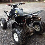 A teen was injured in an ATV accident.