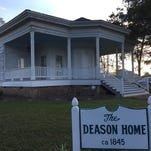 The historic Deason Home will host a re-enactment Oct. 24.
