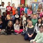 Fourth-graders in Mrs. Kordus' class at Carl Traeger Elementary have been investigating the organ systems of the human body and have even explored possible careers in medicine.