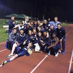 The Marysville High School track and field team claimed its second consecutive regional title Friday night.