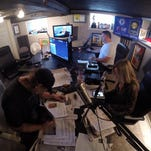 Sports media: At 57, Lane goes new-school — and it's working