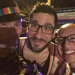 Party at Pence's: LGBT activists host dance party outside VP-elect's Chevy Chase rental