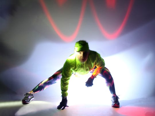 Reflective fabric and light-weight technology make visibility less of an issue during dark winter workouts