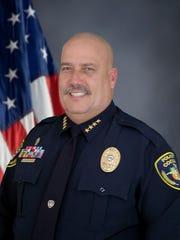 Cocoa Police Chief Mike Cantaloupe