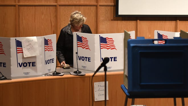 Voters go to the polls Tuesday to vote in Michigan's 2018 primary election.