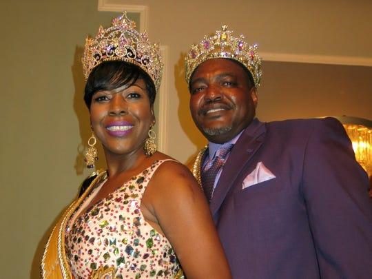 Queen Sobek XVI Rene Whitaker Davis and King Melvin
