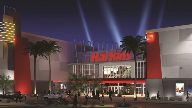 Harkins Theatres announced it would bring a 12-screen movie theater to Laveen in Fall 2020.