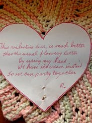 This is one of many limerick Valentines that Rudy Ursic