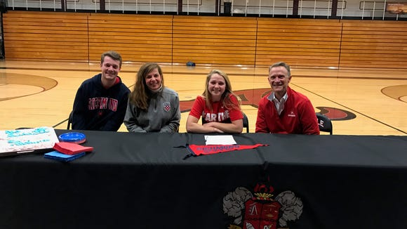 Asheville High senior Adrienne Haynes has signed to