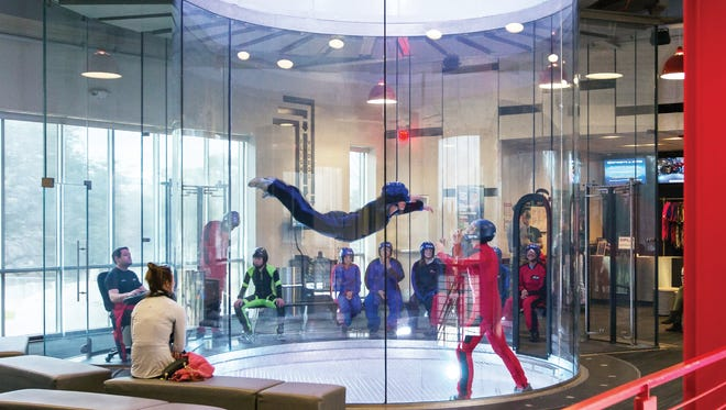 iFLY, an Austin, Texas company, simulates skydiving indoors and may locate a facility in Novi. Property owner Kevin Adell says he has purchase agreements for his land at I-96 and Novi Road with iFLY, Planet Fitness, Texas Roadhouse, Carvana, Drury Inn, and Marriott Fairfield Inn and Suites.