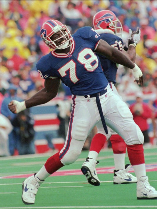 Bills Bruce Smith Football