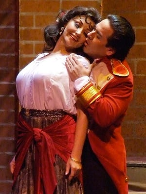 "Opera company Teatro Lirico D'Europa performs Bizet's ""Carmen"" on Feb. 16 in Fort Myers."