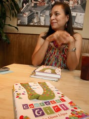 Diana Lopez, native of Corpus Christi and  author of