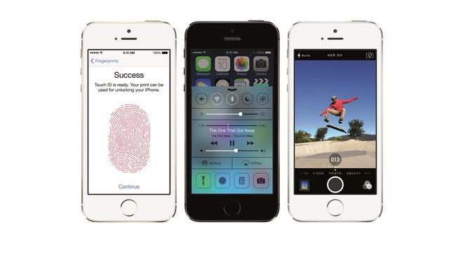 Examples of Apple's iPhone 5s