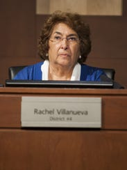Rachel Villanueva succeeded her husband Roy on the