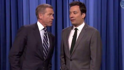 Jimmy Fallon and Brian Williams slow jam the news again.