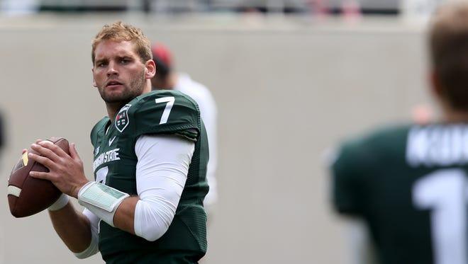 Michigan State quarterback Tyler O'Connor.