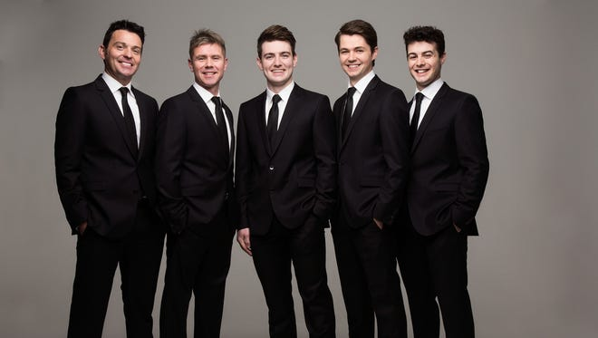 """Irish music senstation, Celtic Thunder, comes to Hershey Theatre Aug. 21 for a 7 p.m. show, featuring new album, """"Legacy: Volume 2."""" Pictured from left to right are Neil Byrne, Ryan Kelly, Damian McGinty, Michael O'Dwyer and Emmet Cahill."""