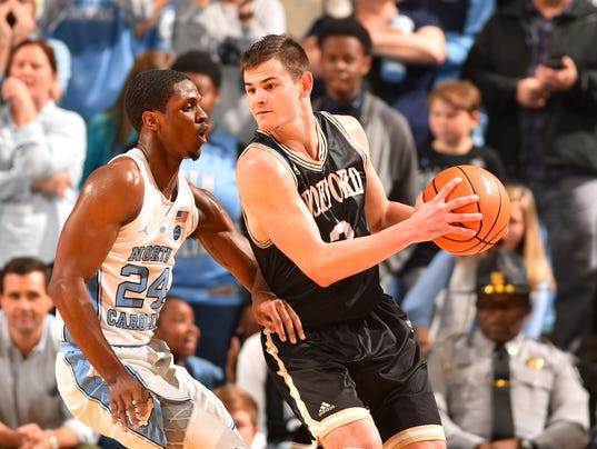 NCAA Basketball: Wofford at North Carolina