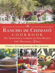 Bill and Cheryl Jamison's cookbook from Santa Fe.