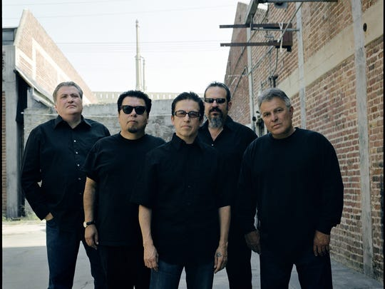 Los Lobos (from left, David Hidalgo, Cesar Rosas, Louie Perez, Steve Berlin and Conrad Lozano): Not just another band from East L.A.