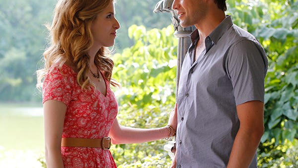 Anna Kendrick and Jeremy Jordan  star in the upcoming musical, 'The Last Five Years.'