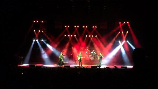 Barenaked Ladies played Friday at Riverbend Music Center in Cincinnati, Ohio.