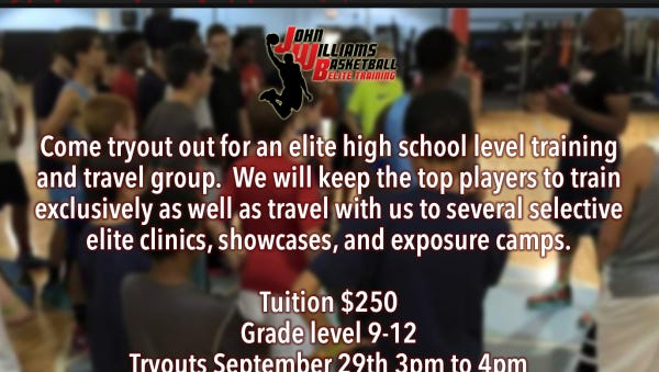 John Williams Basketball Elite Training is in the process of putting together a travel team.