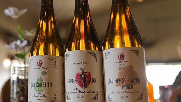 Vander Mill Chapman's blend hard cider is made in Spring Lake. Vander Mill has been producing hard cider since 2008 and is about to open a second restaurant and production facility in Grand Rapids.
