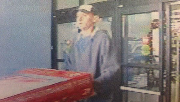 Police say this man stole two television sets from Walmart.