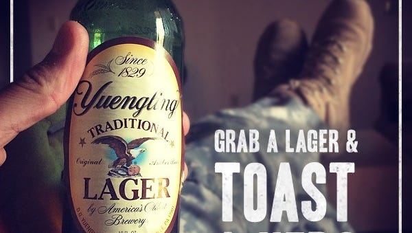 Yuengling will make a donation to the VFW at the 117th VFW National Convention in Charlotte N.C. this July.