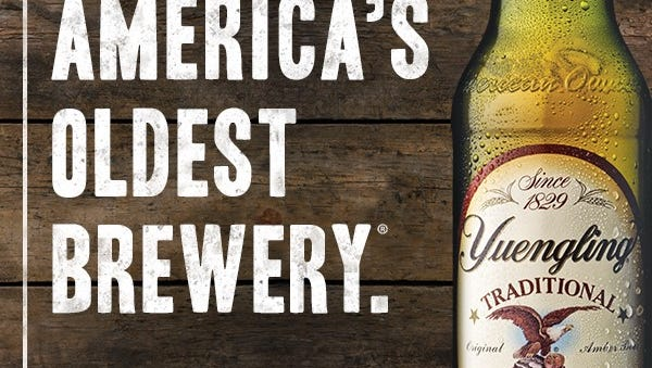 Yuengling is expanding its distribution to Louisiana.