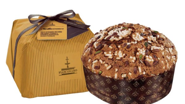 Jumbo panettone from Jerry's Gourmet and More in Englewood.