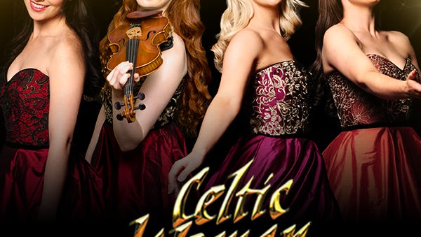 The group Celtic Woman will perform at the Wicomico Youth & Civic Center in Salisbury, Maryland, on Mach 31, 2017.