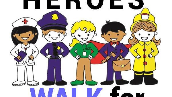 Hometown Heroes Walk for Children is Friday, April 21.