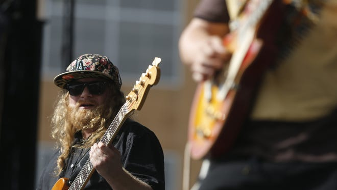 Eric Coomes, a member of the funk band Lettuce. The band performs at the Capitol Theatre Jan. 23.