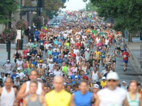 The now-defunct Citizen-Times Half Marathon is replaced by the Asheville Marathon Saturday.