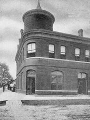 St. Landry State Bank, at the turn of the 20th century.