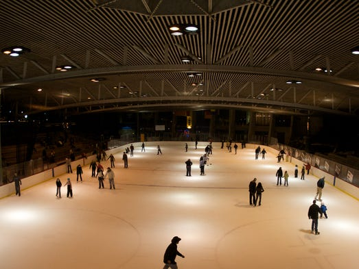A silver lining to winter outdoor ice skating rinks for 5 star beauty salon portsmouth va