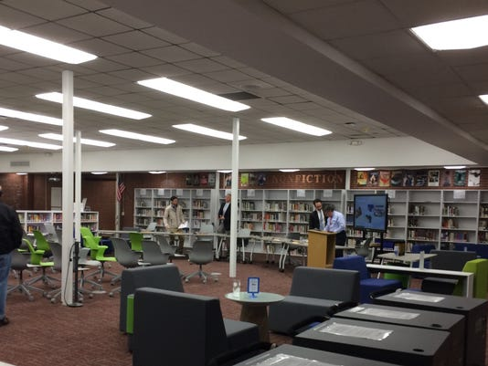 Verona High School library