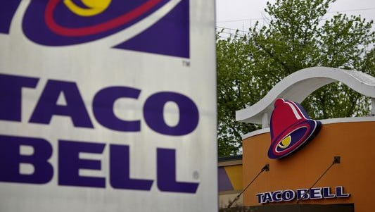 A deaf New Jersey woman who primarily communicates in sign language is suing Taco Bell, saying she found it difficult, if not impossible, to order two tacos at the fast-food chain's drive-thru window.