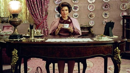 Imelda Staunton in a scene from the motion picture Harry Potter and The Order of the Phoenix.