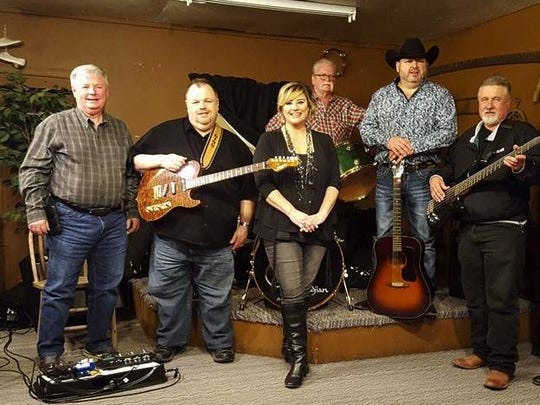 The Luttrell Route 66 Opry Barn Band will perform Saturday with guest guitarist Dino Strunk.