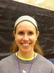 Central girls basketball coach Lisa Blalock.