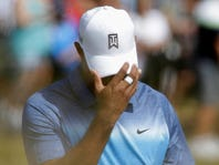Tiger Woods opens with 3-over 75