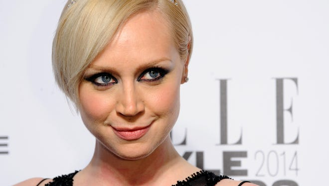 """Her on-screen life involves swords and battles, but the off-screen life is often glam for """"Game of Thrones"""" actress Gwendoline Christie."""