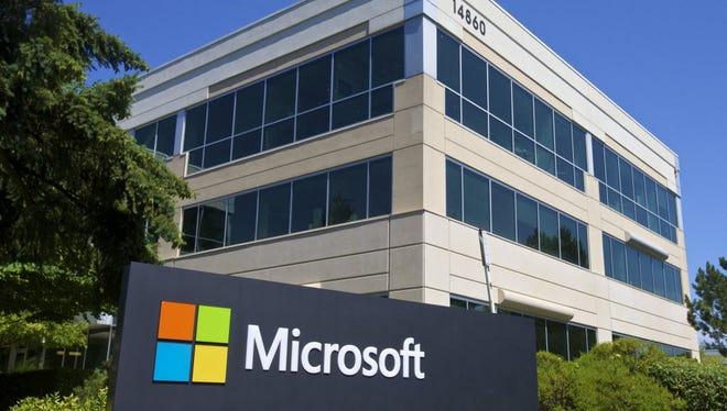 Microsoft headquarters in Redmond, Washington