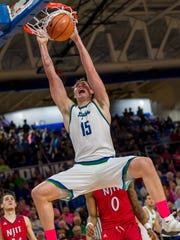 FGCU junior center Ricky Doyle hopes the Eagles learned a tough lesson last season and is excited to play in new head coach Michael Fly's more high-flying style.